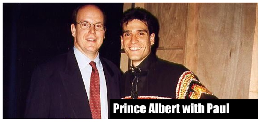 Prince Albert of Monaco and Paul Ponce