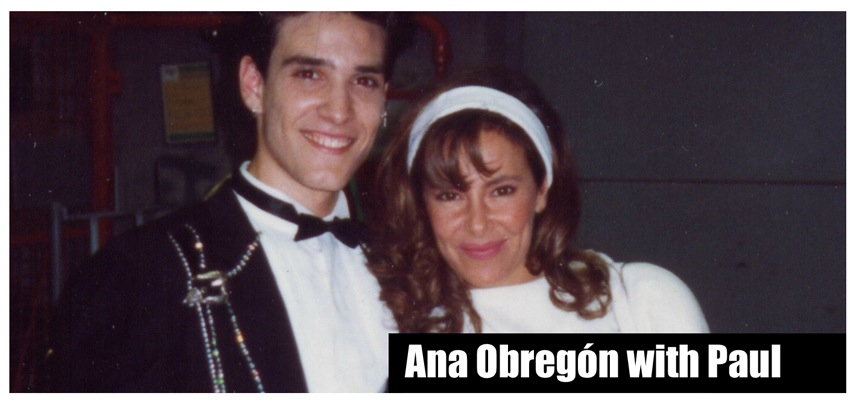 Ana Obregón and Paul Ponce