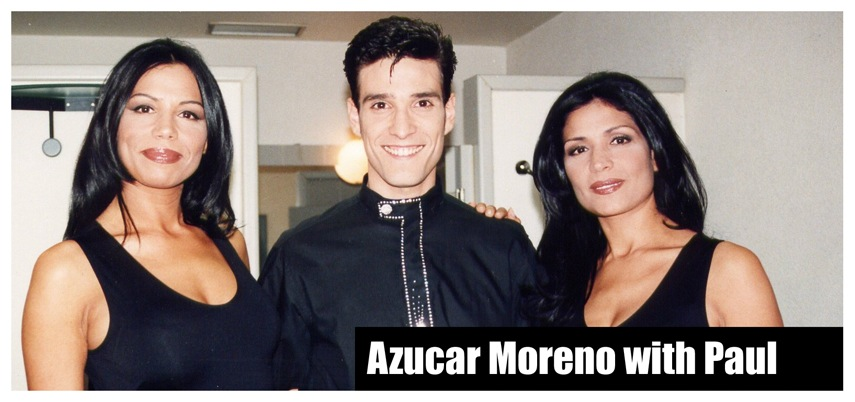 Azucar Moreno and Paul Ponce