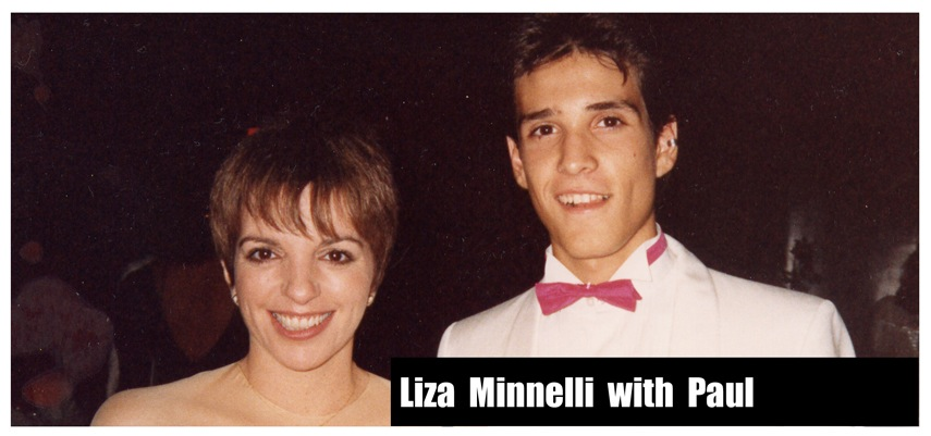 Liza Minnelli and Paul Ponce